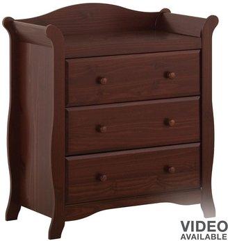 Stork Craft aspen 3-drawer chest