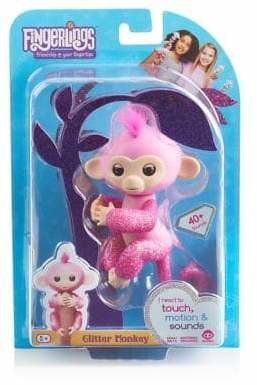 Fingerlings Rose Monkey Toy
