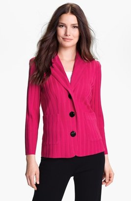 Exclusively Misook 'Carly' Sweater Jacket Small