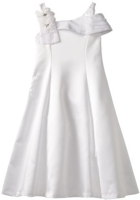 Rare Editions Girls 7-16 One Shoulder Princess Dress