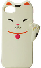 Kate Spade Cat Silicone Phone Case for the iPhone 5 and 5s Cell Phone Case