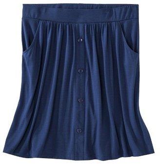 Merona Women's Plus Size Front Pocket Knit Skirt