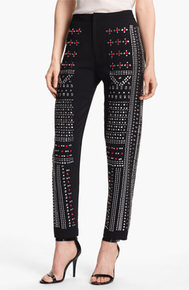 Clover Canyon Embellished Pants Womens Black Size Small Small