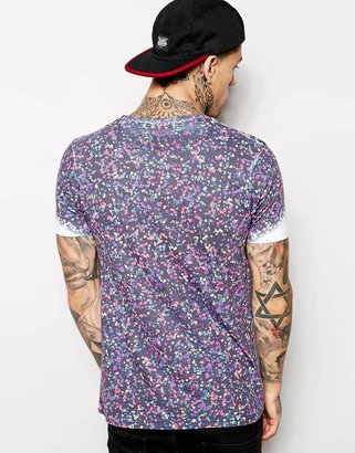 Friend Or Faux T-Shirt with Dot Print