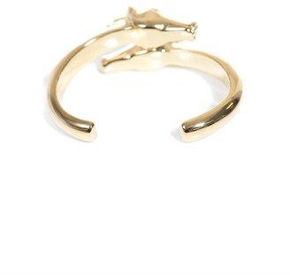 Chloé Double horse head bracelet