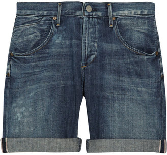 Citizens of Humanity Gibson low-rise denim shorts