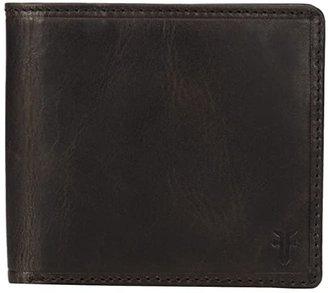 Frye Logan Billfold (Slate Antique Pull Up) Wallet Handbags
