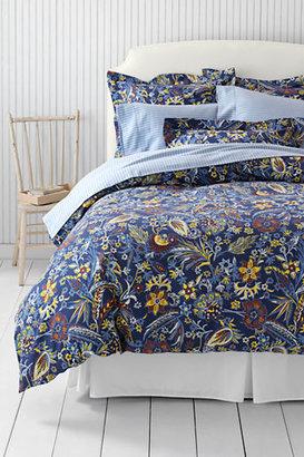 Lands' End 6-oz Pheasant Floral Duvet Cover