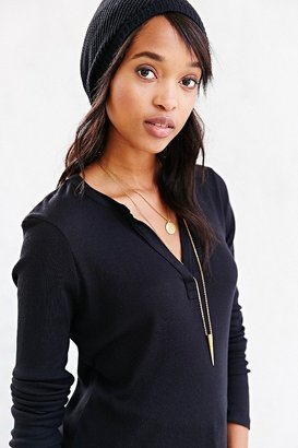 Urban Outfitters Project Social T Army Henley Tee
