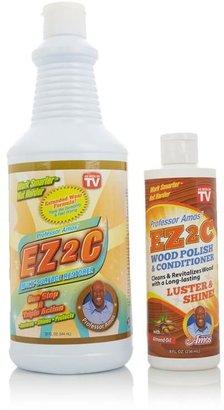 Professor Amos EZ2C Restorer with EZ2C Wood Polish and Conditioner Combo Pack