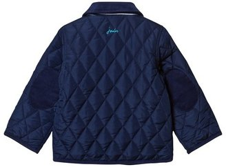 Joules Navy Quilted Jacket