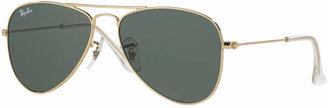 Ray-Ban AVIATOR KIDS Junior Sunglasses, RJ9506S $70 thestylecure.com