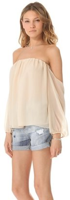 T-Bags Tbags los angeles Off the Shoulder Blouse