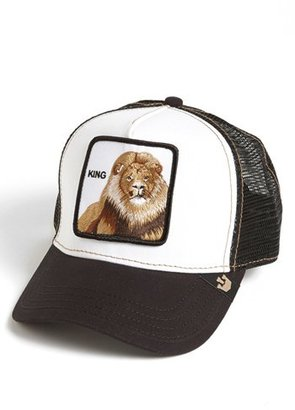 Men's Goorin Brothers 'Animal Farm - King' Trucker Hat - Black $30 thestylecure.com