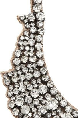 Valentino Swarovski crystal necklace