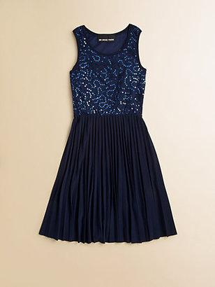 Un Deux Trois Girl's Lace Tank Dress