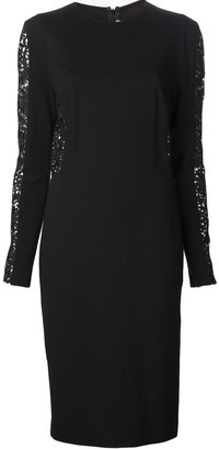 Stella McCartney lace inserts dress