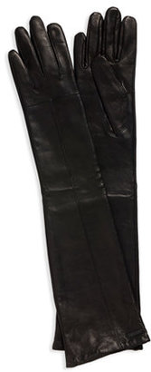 HUGO Leather 'DH 50' Long Gloves