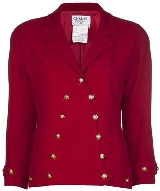 Chanel 1990s tweed jacket