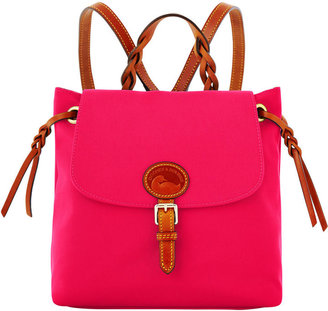 Nylon Flap Backpack $139 thestylecure.com