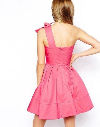 Asos Origami Shoulder Dress