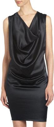 Ports 1961 Lace-Layered Belted Dress