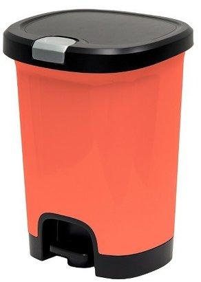 Hefty®; 7 Gallon Lockable StepOn Waste Can - Melon