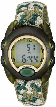 Timex Boys T71912 Time Machines Digital uflage Elastic Fabric Strap Watch