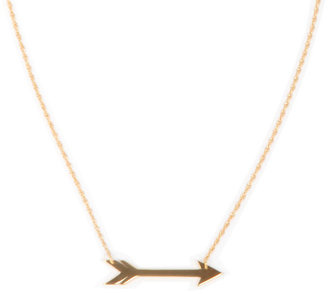 "Jennifer Zeuner Jewelry Montana 1"" Horizontal Arrow Necklace"