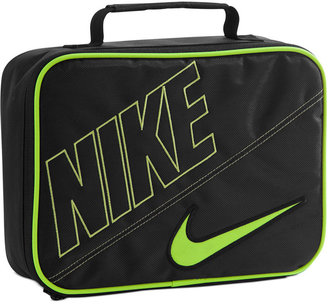 Nike Boys' or Girls' Patent Swoosh Lunchbox