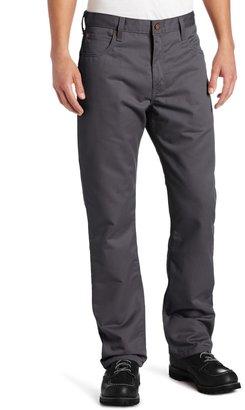 Dickies Men's Regular Straight Fit 5-Pocket Ring Spun Pant