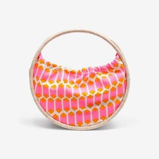 Kate Spade Saturday Full-Circle Straw Bag in Cubic