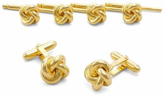 Brooks Brothers Sterling Oversized Knot Stud Set