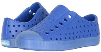 Native Jefferson (Toddler/Little Kid) (Victoria Blue/Transparent) Boys Shoes