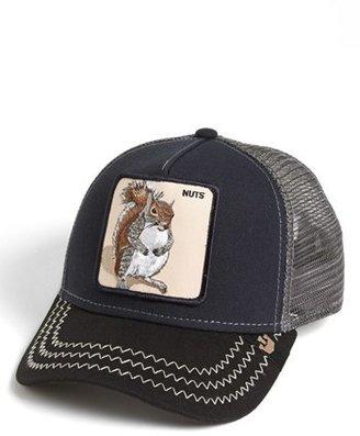 Men's Goorin Brothers 'Animal Farm - Squirrel Master' Snapback Trucker Hat - Blue $30 thestylecure.com