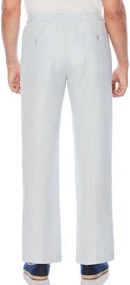 "Cubavera Drawstring Linen Pant - 32"" Inseam"