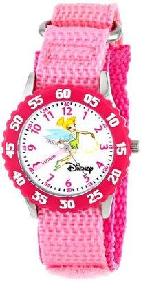 Disney Kids' W000072 Tinker Bell Stainless Steel Time Teacher Watch