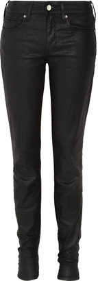 Levi's Empire waxed mid-rise skinny jeans