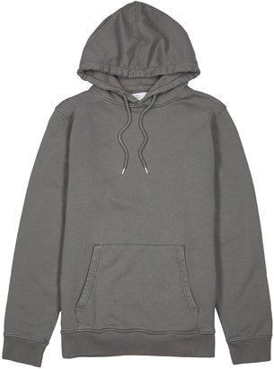 COLORFUL STANDARD Charcoal Hooded Cotton Sweatshirt