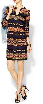 M Missoni Bold Zig Zag Dress