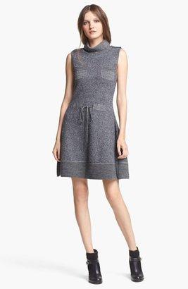 Rachel Zoe 'Rigby' Funnel Neck Merino Wool Dress