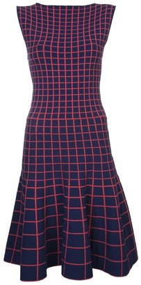 Ohne Titel sleeveless grid dress