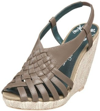 Pink Studio Women's Parissa Basketweave Wedge