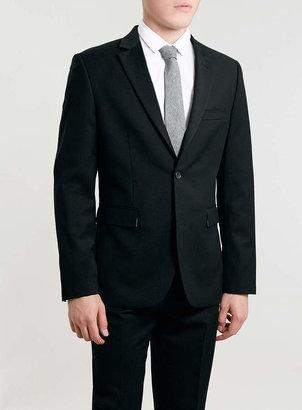 Topman Black Slim Fit Suit