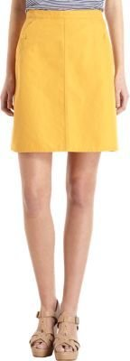 A.P.C. Button Pocket Flare Skirt