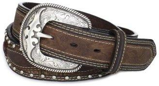 Wrangler Men's Hand Tooled Western Belt