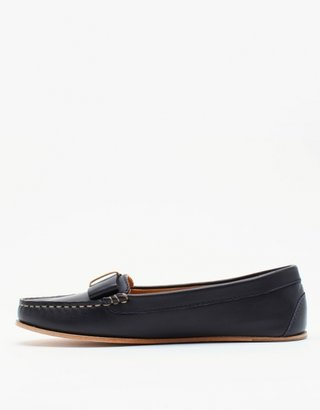 A.P.C. Moccasin Flats In Navy