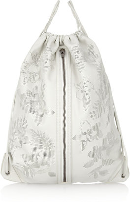 Alexander Wang Perforated leather backpack