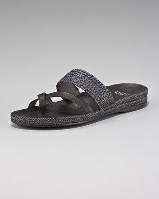 Stuart Weitzman Lanyard Flat Sandal