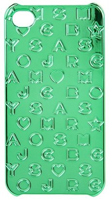 Marc by Marc Jacobs Stardust Embossed Phone Case (Bramble Green) - Bags and Luggage